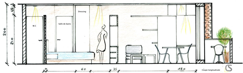 Elévation appartement AIM DecoDesign