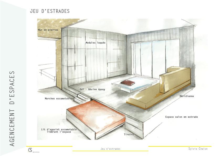 salon podium AIM DecoDesign