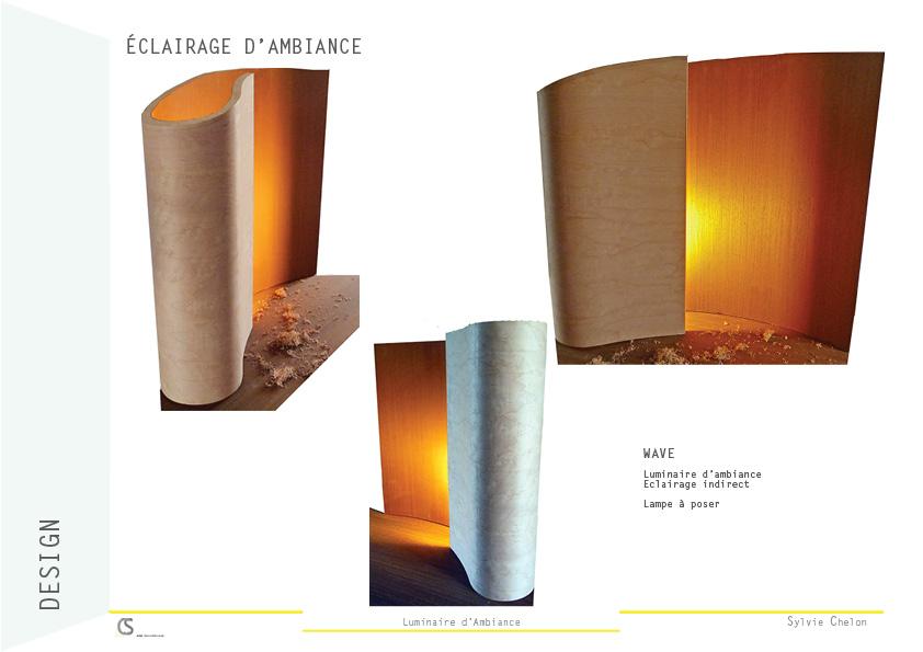 Wave Wood Lamp AIM DecoDesign