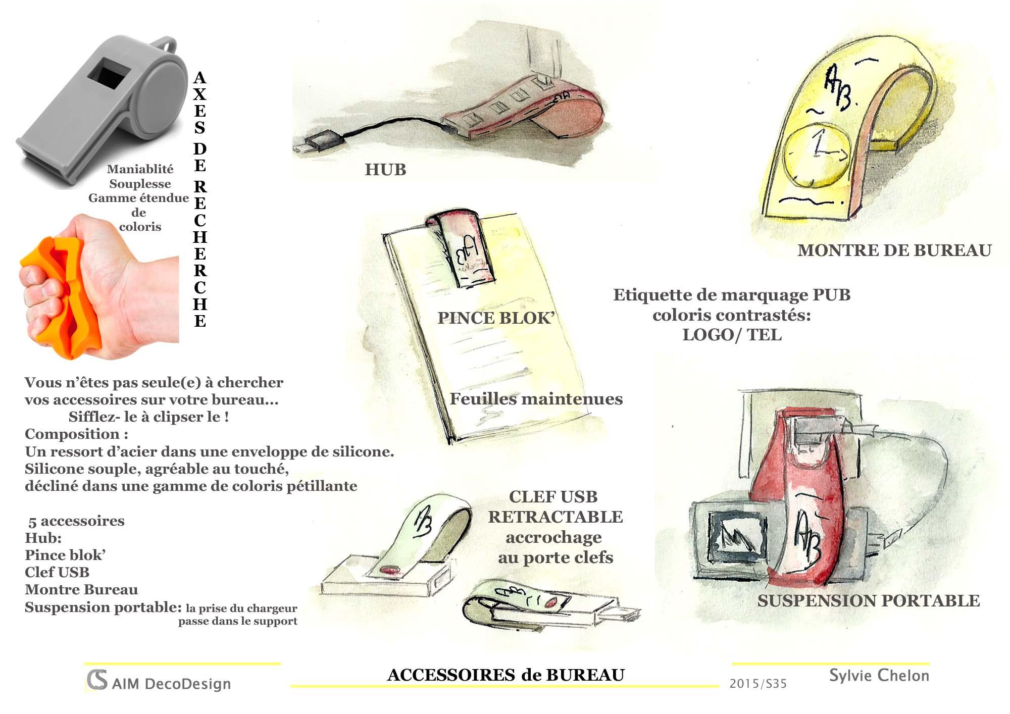 accessoires de bureau AIM DecoDesign